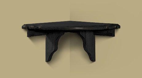 Heritage Corner Shelf Onyx